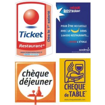 Module de paiement par chèque restaurant