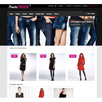 Boutique en ligne TbWEB BASIS