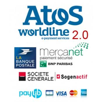 Module sips atos 2.0 worldline compatible Sogenactif Merc@net et Worldline