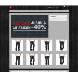 Prestashop template Jeans - Clothes