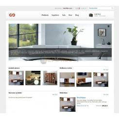Prestashop template Moon furniture