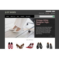 Prestashop template just shoes