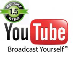 Prestashop 1.5 Vidéo Youtube